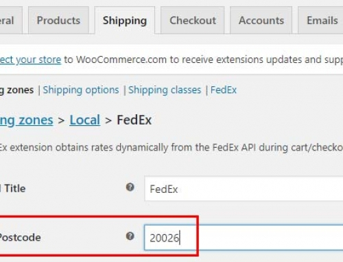 Getting Both Local Pickup & FedEx to Show In WooCommerce